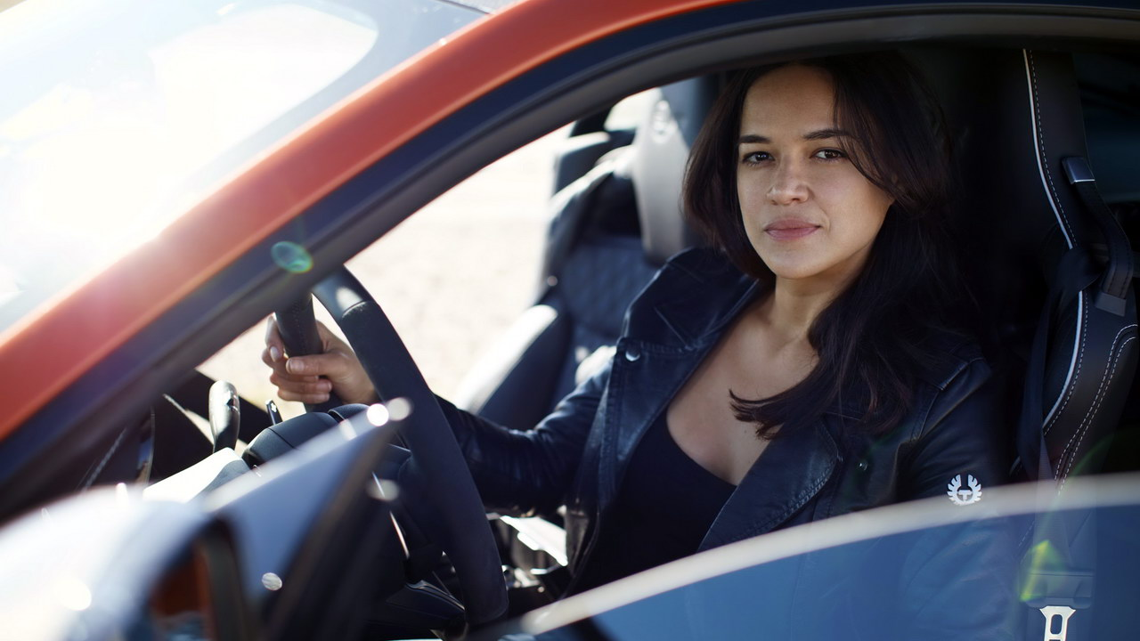 Michelle Rodriguez F-TYPE SVR 4