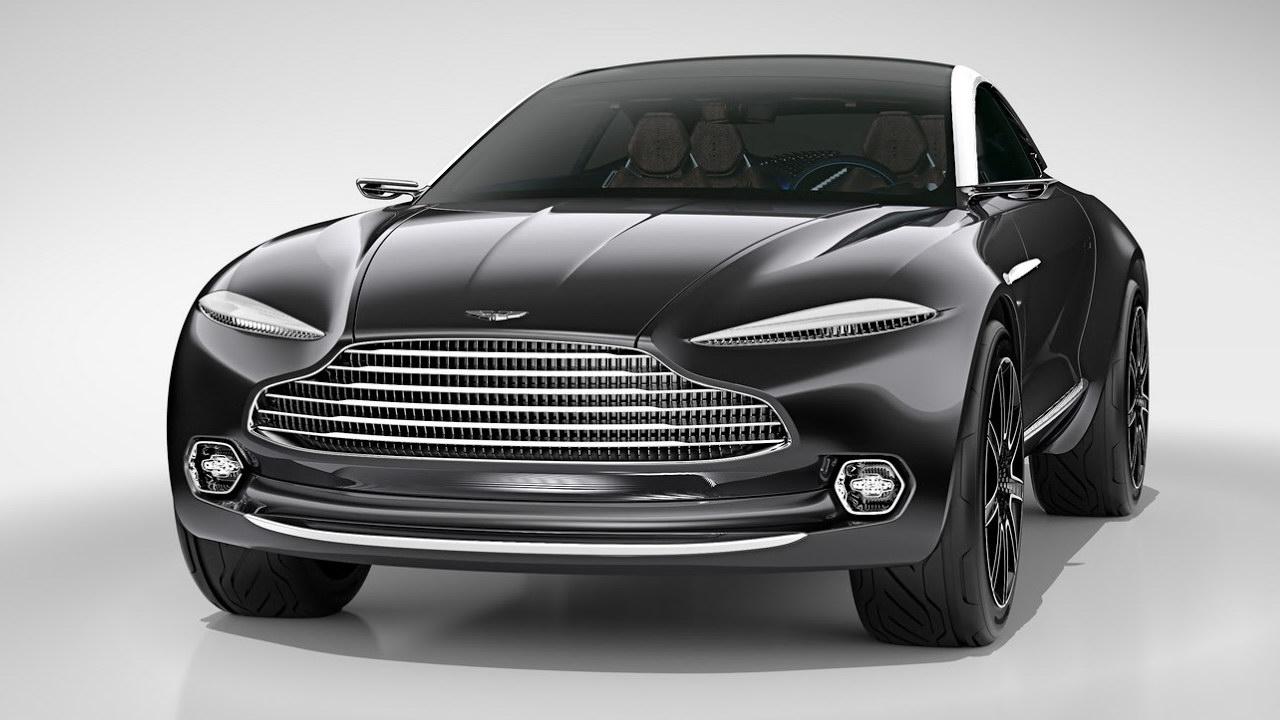 Концептуальный кроссовер Aston Martin DBX