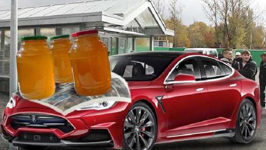Нереальное ускорение песчаного багги с моторами Tesla