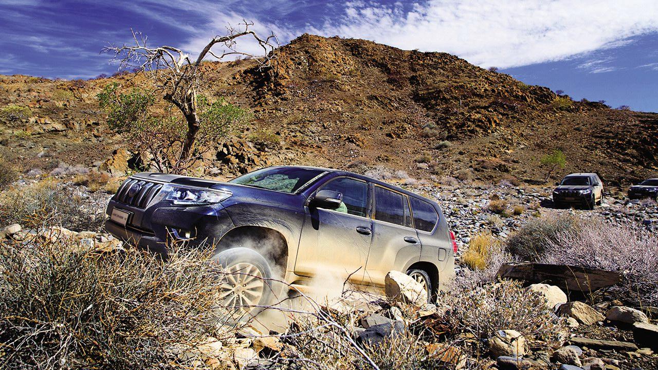Toyota Land Cruiser Pra