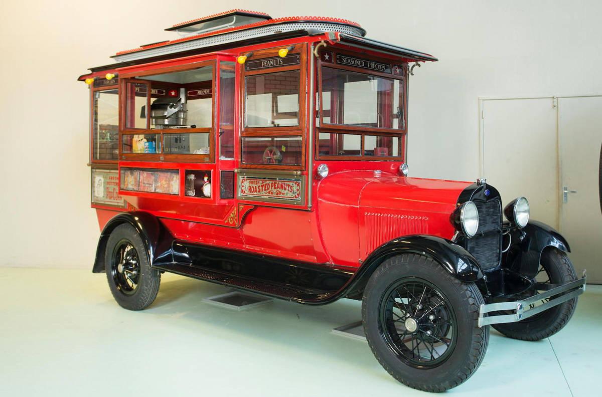 Ford Model AA Popcorn truck, 1928