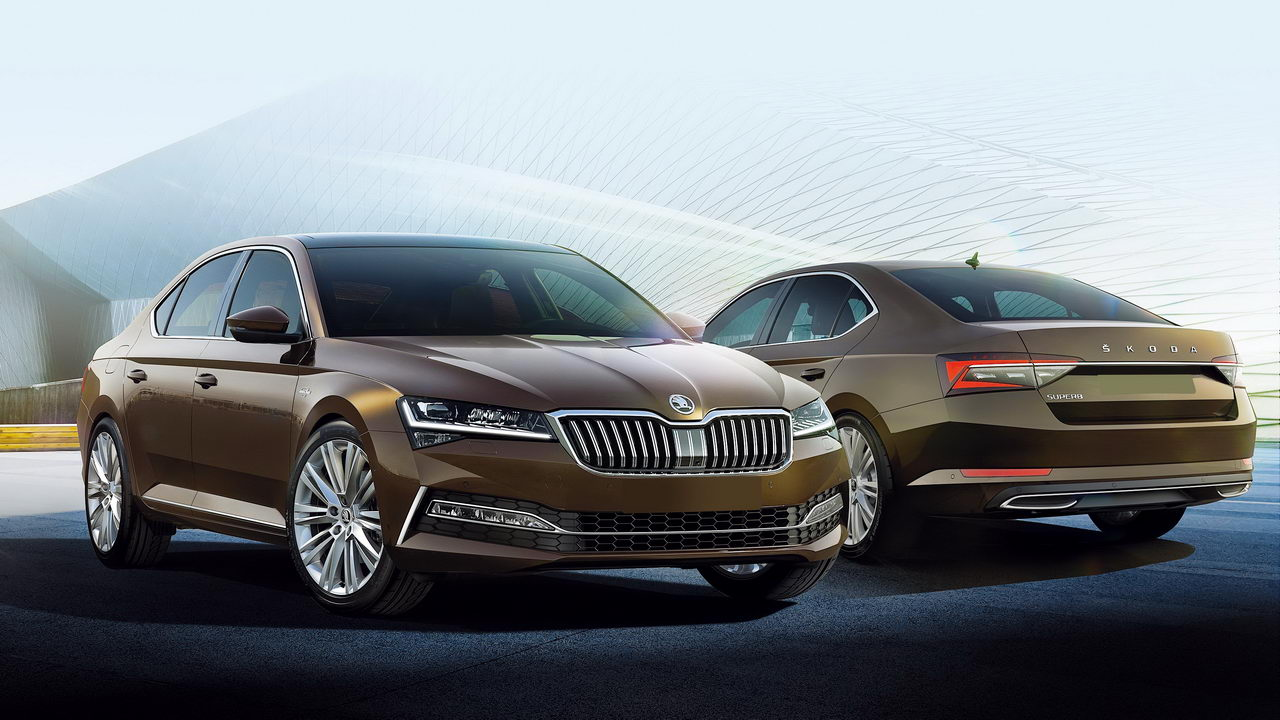 New Skoda Superb We Shine Lights On The Matrix But Is The Hybrid