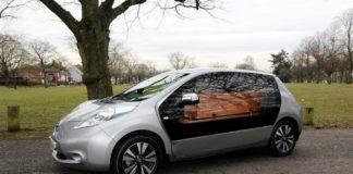 Nissan Leaf funeral