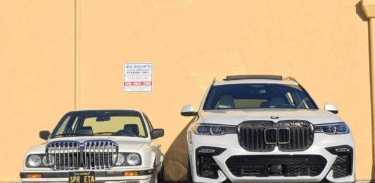 BMW nozdri