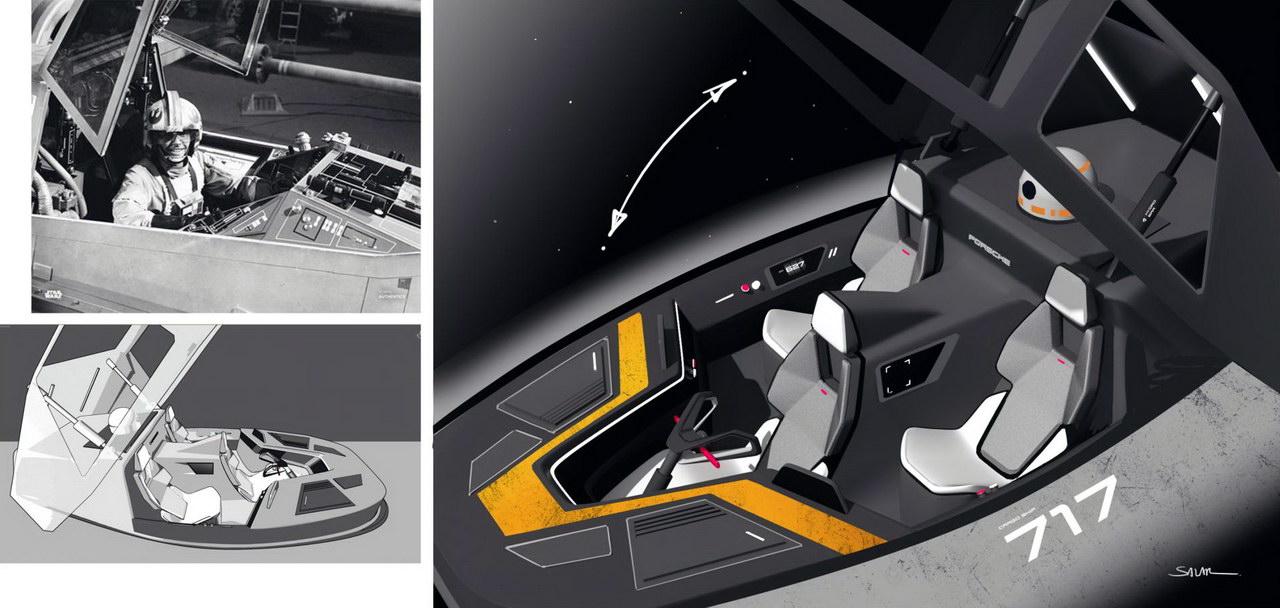 Porsche Star Wars
