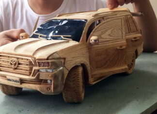 Land Cruiser wood