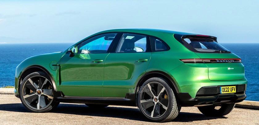 Porsche cross