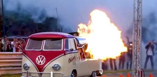VW Van rocket