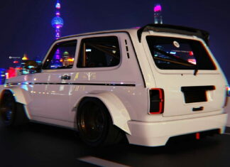 Widebody Lada Niva