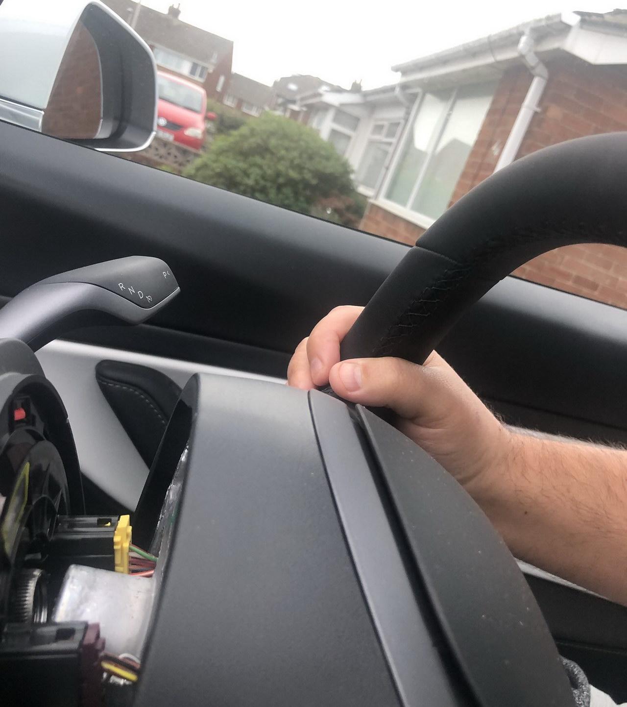 Tesla Steering wheel