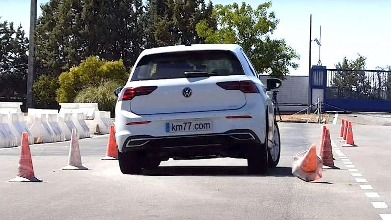 VW Golf test