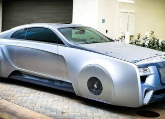Justin Bieber Futuristic Rolls Royce 3