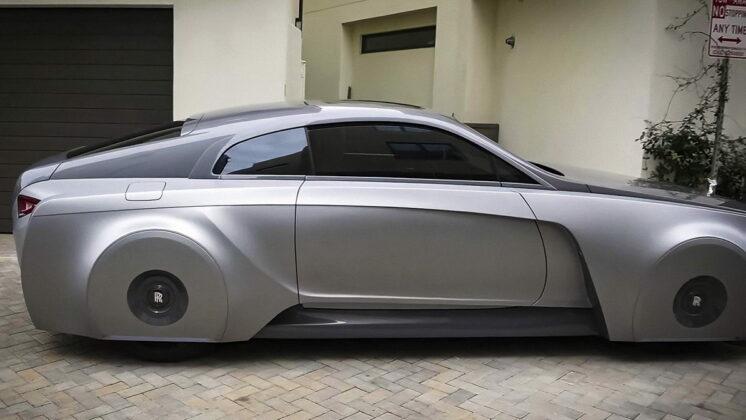 Justin Bieber Futuristic Rolls Royce