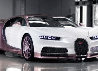 Silk Rose Bugatti Chiron
