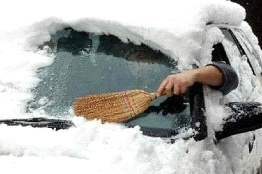 Winter lifehack