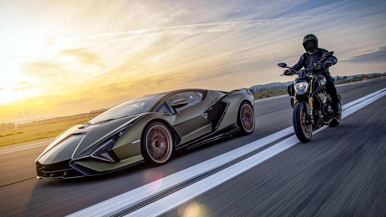 Lamborghini и Ducati