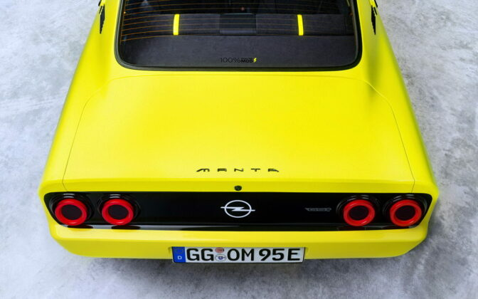 Opel Manta GSe ElektroMOD 8