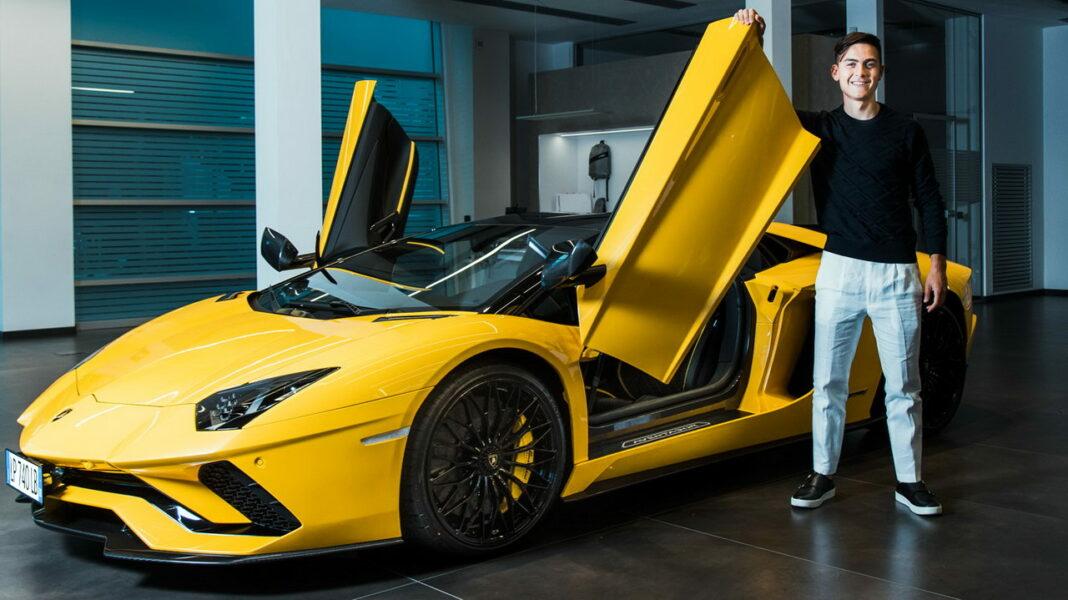 Paulo Dybala Lamborghini