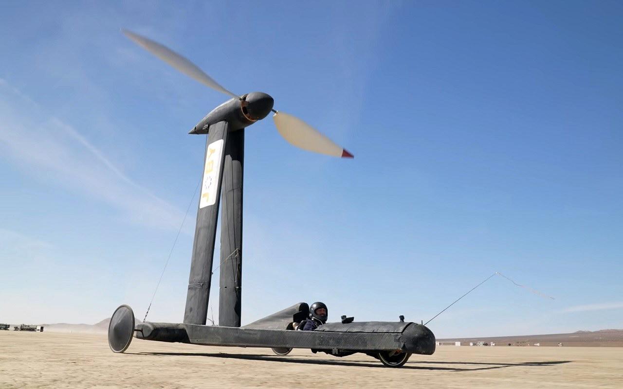 wind vehicle Blackbird