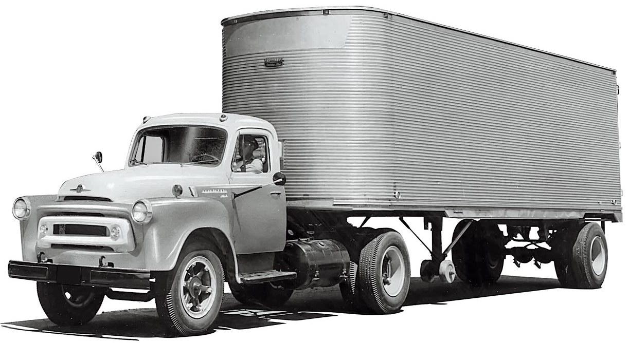 грузовик International серии R
