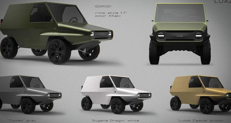 ЛуАЗ-969 new