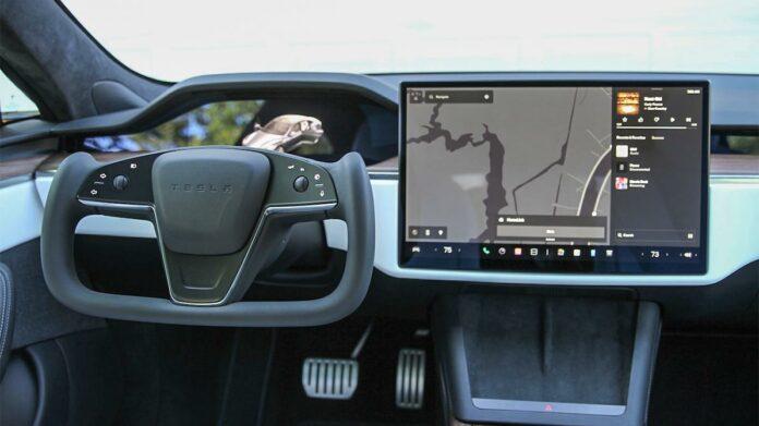 tesla model s steering wheel